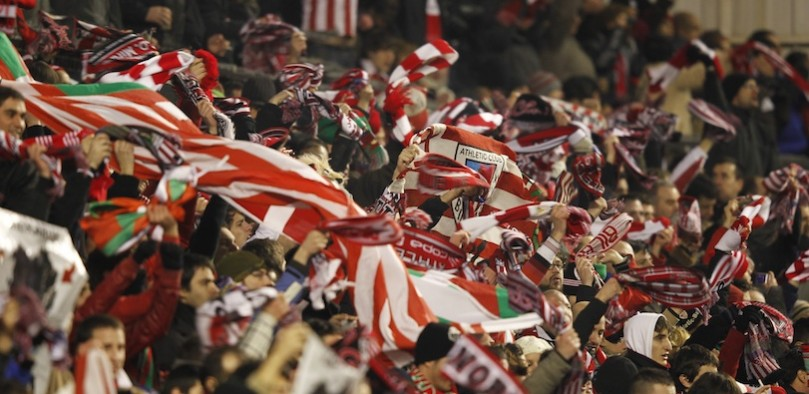 spectateurs San Mames Athletic Bilbao football