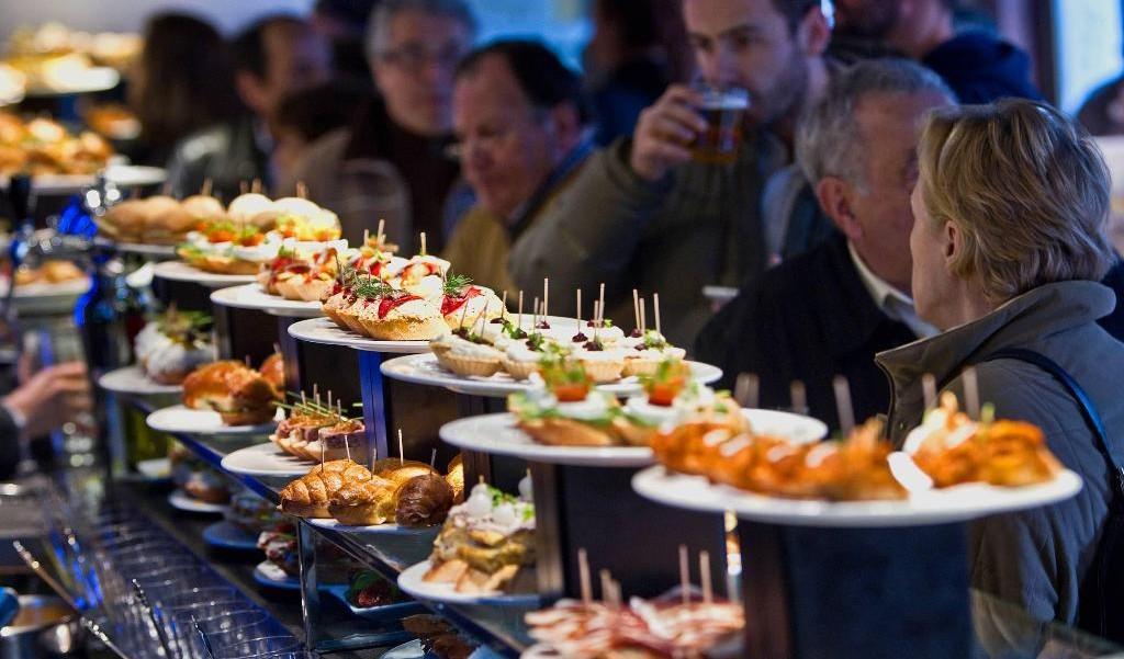 Bar Tapas gastronomique San sebastian Erronda