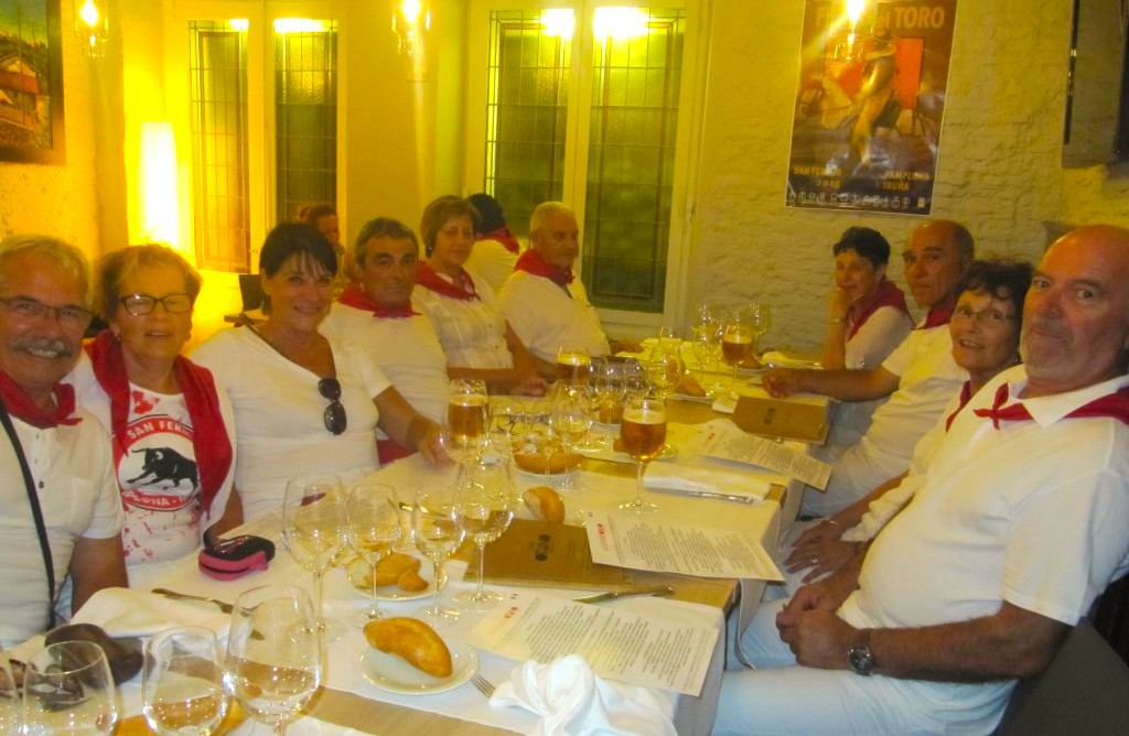 san fermin pampelune agence de voyage pays basque trip pamplona bullfigth Erronda