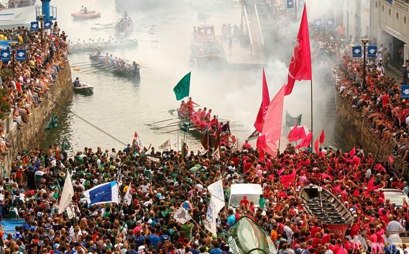 Bandera de la Concha san-sebastian Erronda evenements