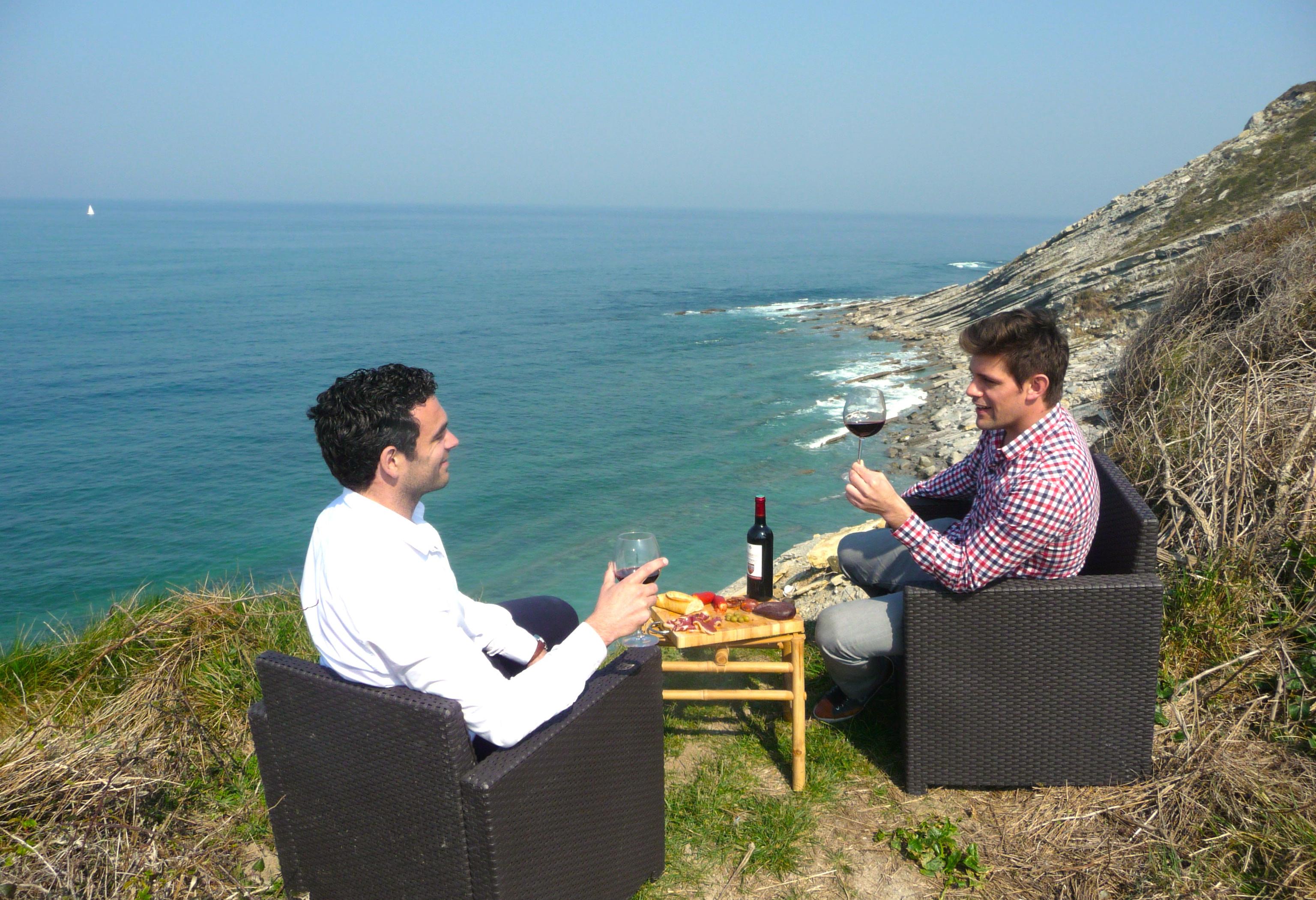 Alexis et Peio proposent team building, incentive et tourisme d'affaires à Biarritz au Pays Basque