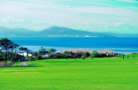 Golf biarritz pays basque