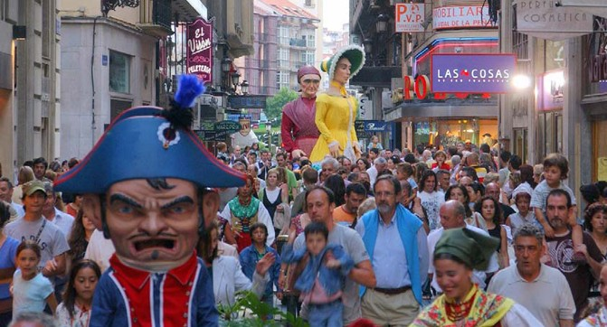semana grande bilbao pays basque