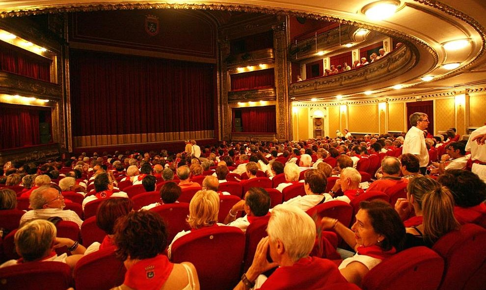 teatro gayarre pamplona pais vasco euskadi