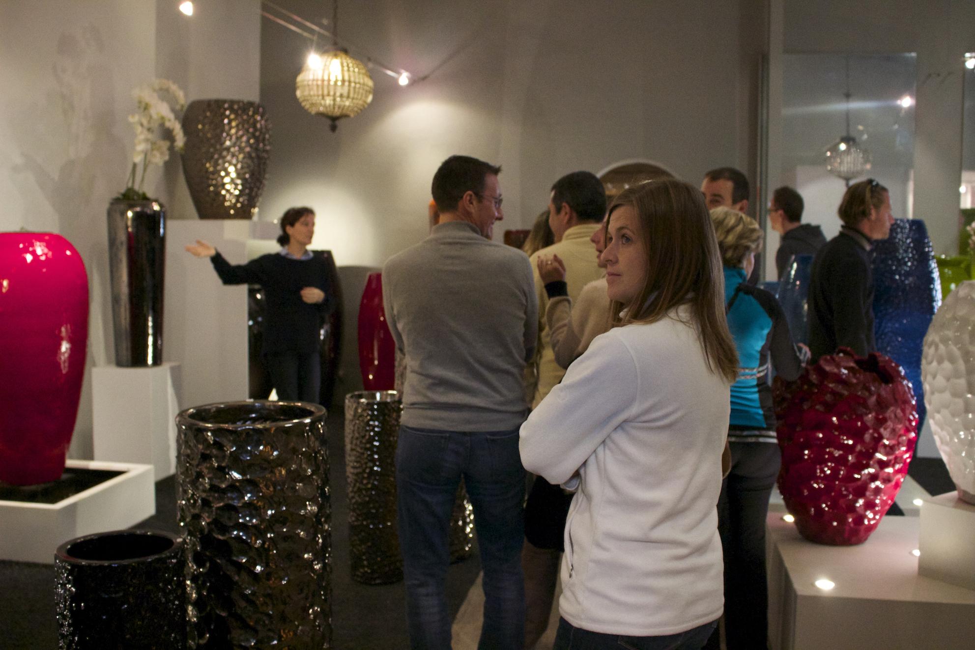 Grand Hotel Saint Jean de luz Incentive pays basque seminaires-poterie-goicoechea-12