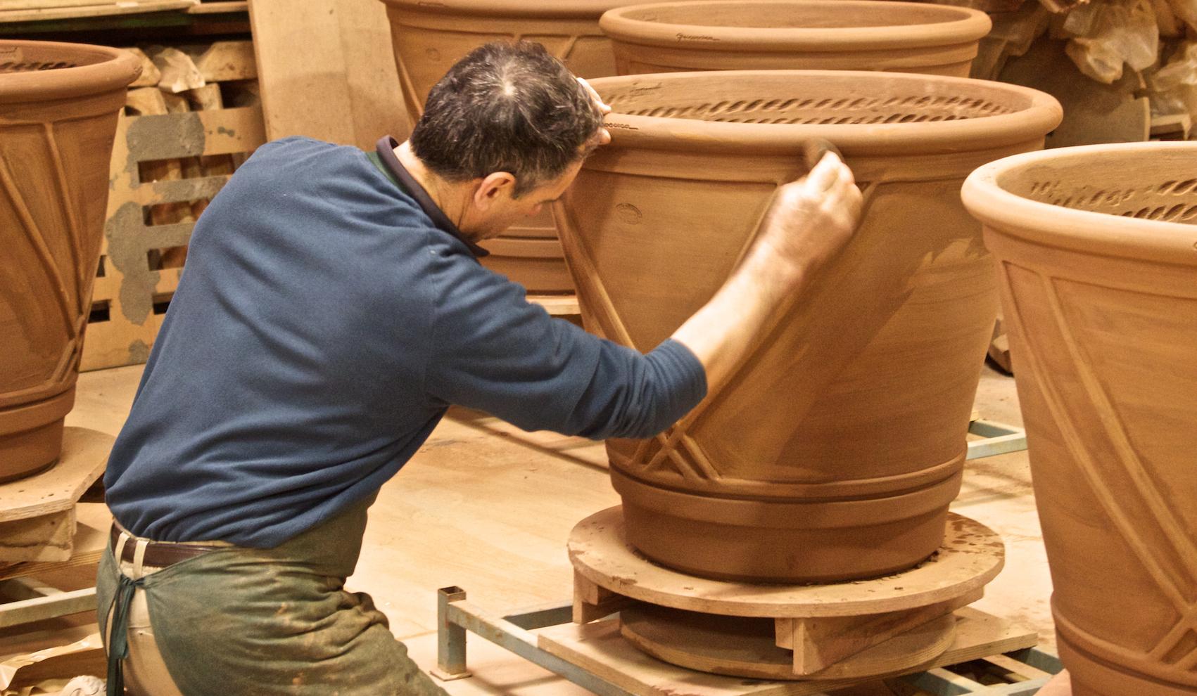 Grand Hotel Saint Jean de luz Incentive pays basque seminaires-poterie-goicoechea-15