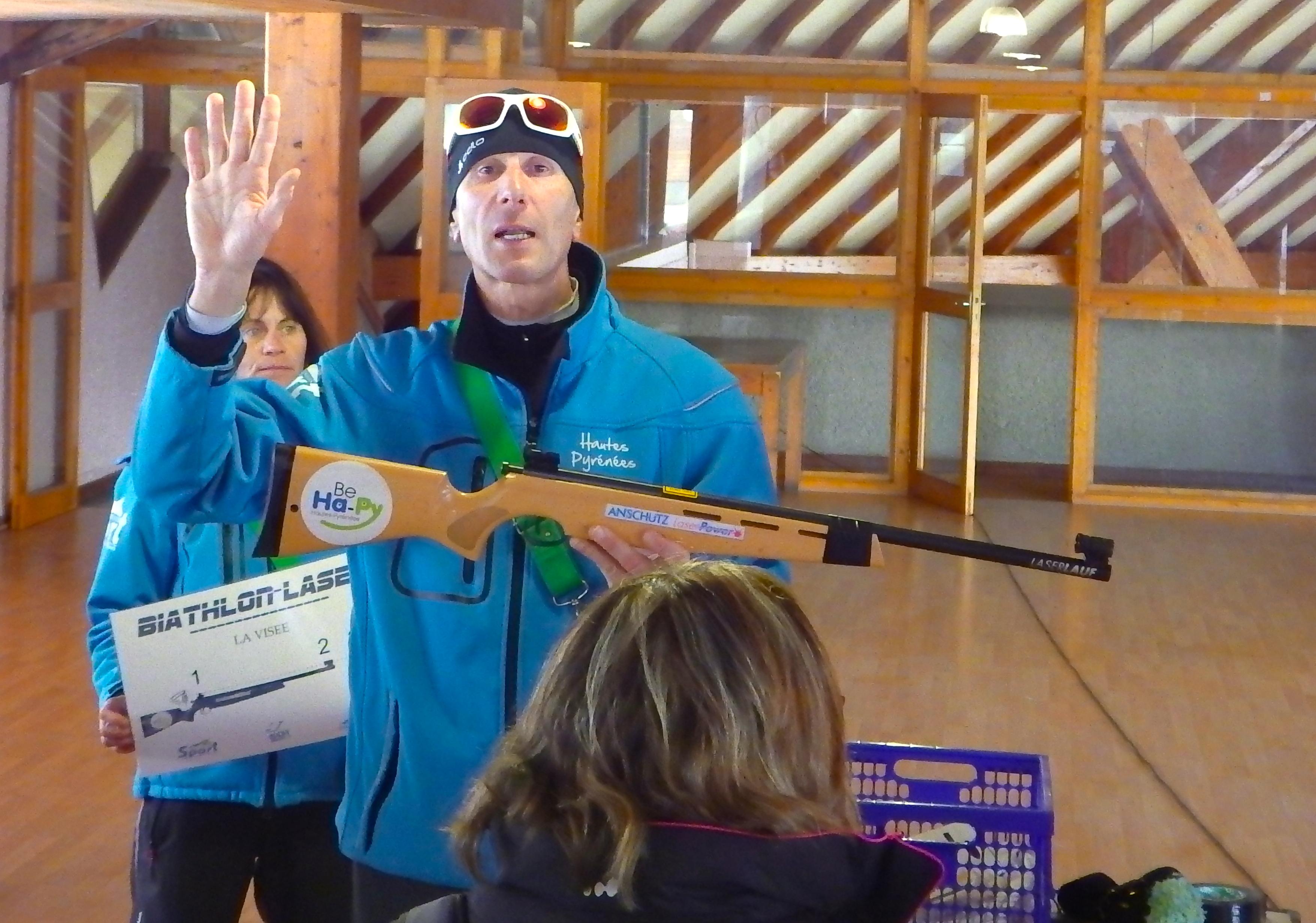 Incentive pays basque Team building seminaire pyrénées La-mongie baqueira formigal Biathlon Laser challenge luge Payolle 2016 le cercle Erronda agence evenementielle