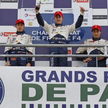 AUTO GRAND PRIX DE PAU podium 2013