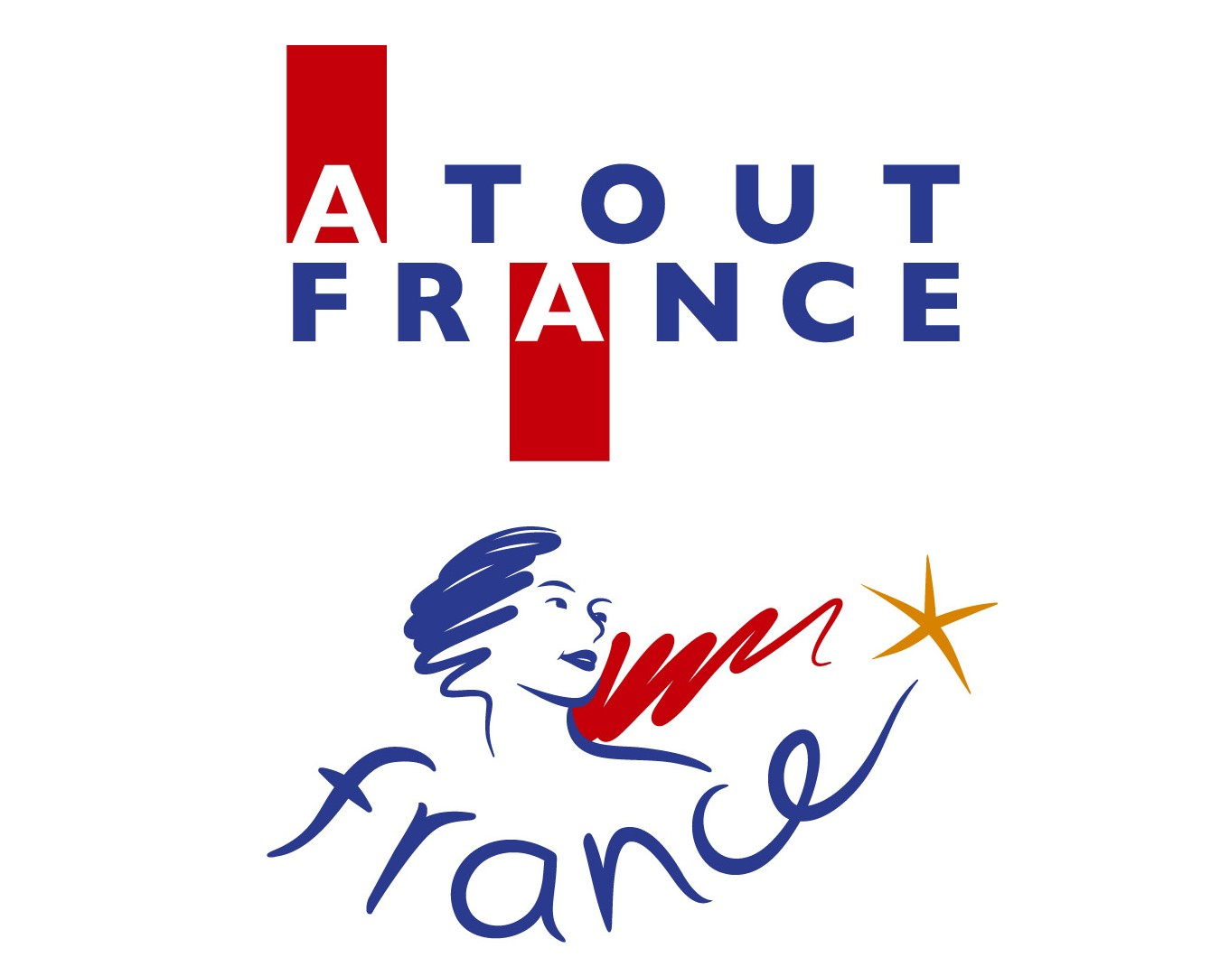 Logo atout france agence de voyage Erronda evenements