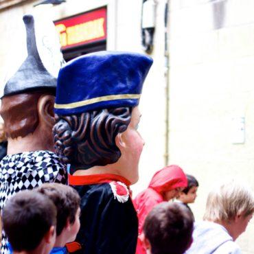 San Sebastian Spain pais vasco carnaval defilé