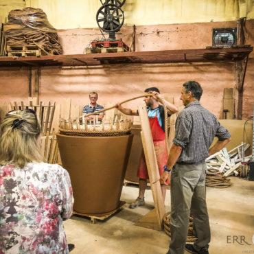 agence de voyage évènementielle pays basque sejour stay trip evasion saint jean de luz ascain ciboure artisans art producteurs poteries goicoechea pots terre