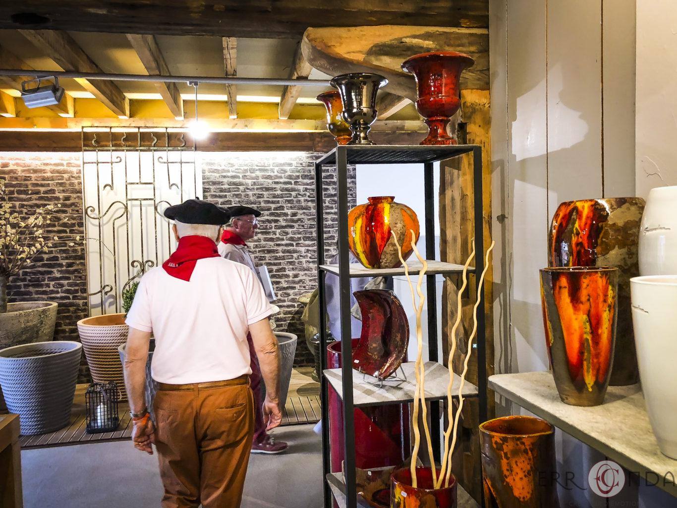 Poterie Goicoechea Saint Jean De Luz visites des artisans du pays basque - agence voyage erronda