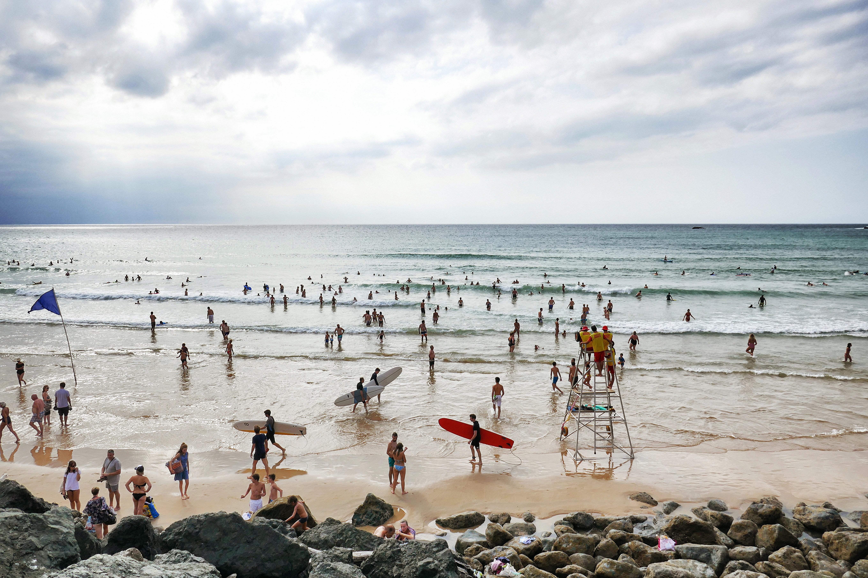 un été à biarritz surf
